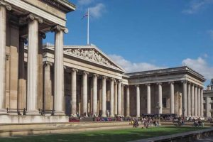 British Museum penetrating damp repair